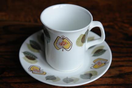 "J & G Meakin ""Applewood"" cup & saucer set"