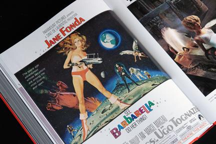 1950s advert for the film Barbarella