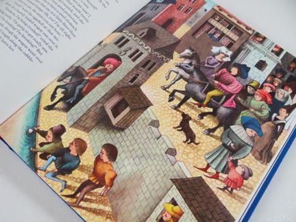 The Darning Needle illustration from TASCHEN's Hans Christian Andersen Fairy Tales