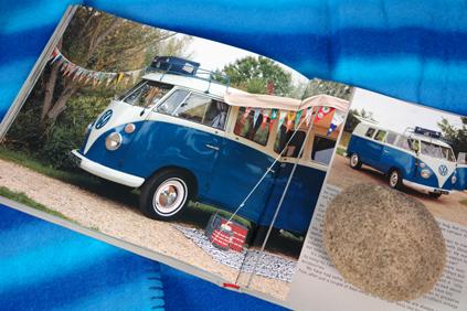 page in My Cool Campervan featuring a 1965 VW Microbus campervan