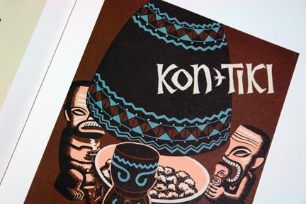 Kon-Tiki menu