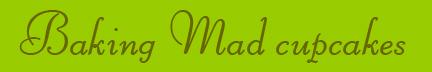"""""Baking Mad cupcakes"" blog post banner"